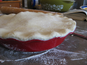 Apple Pie, Ready for the oven