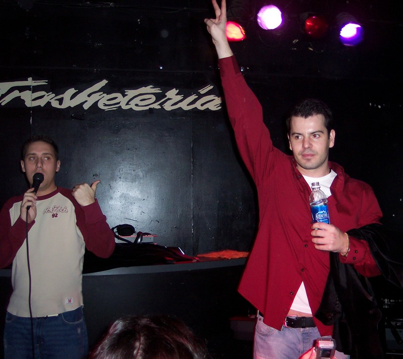 Jordan Knight at the Trash (photo Sam Tweedle)