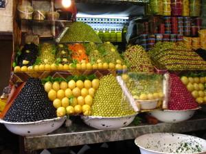 Solo in Morocco - a souk in Meknes