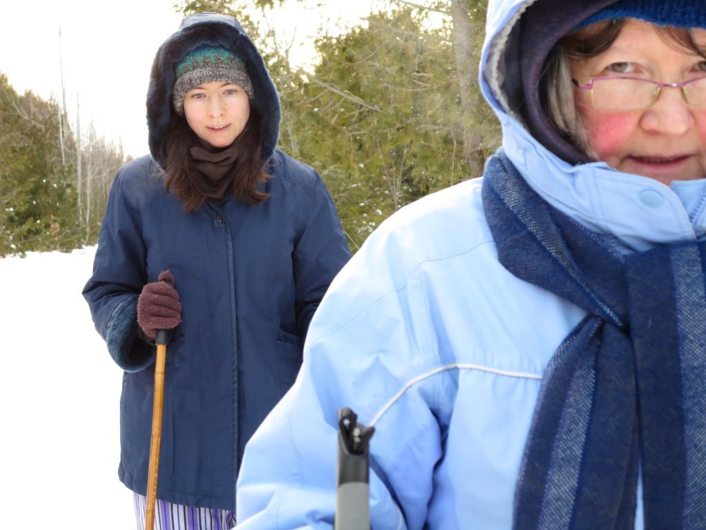 January 1: Cross-Country Skiing
