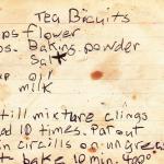 Nana's Tea Biscuits