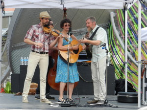 On not getting grants or gigs - Kristine Schmitt and Lonesome Ace Stringband at the Music City