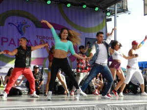 On not getting grants or gigs - OPI Dance at CIBC PANAMANIA Live!