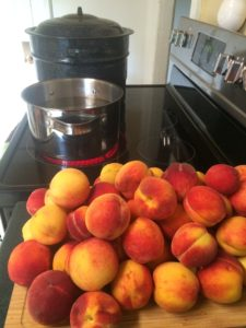 Canning Peaches - Hot Pack Method